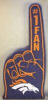 Denver Broncos Foam Finger #1 Fan - 18 in! Great for Game Day Party!