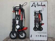 """A-Bike Plus Sinclair Research """"The world's lightest and smallest folding bike"""""""