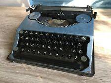 Hermes Featherweight Portable Typewriter Vintage Antique Baby Switzerland Rare