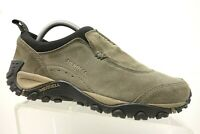 Merrell Green Leather Casual Athletic Slip On Trail Hiking Loafers Shoes Men's 8