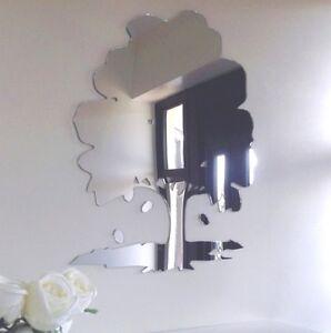 Oak Tree & Acorns Acrylic Mirror (Several Sizes Available)