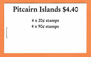 """PITCAIRN ISLANDS 1990 """"SHIPS"""" BOOKLET COMPLETE VERY FINE"""