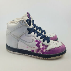 Women's NIKE 'Dunk High '08' Sz 6 US Casual Shoes ExCon White | 3+ Extra 10% Off