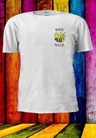 Be Nice Bee Pocket Cute Funny Festival Men Women Unisex T-shirt 916