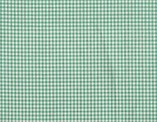 """Tailored 22"""" French Country Gingham Check Pool Blue-Green Cal King Bedskirt"""