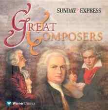 GREAT COMPOSERS: PROMO CD - BEETHOVEN MOZART TCHAIKOVSKY MENDELSSOHN WAGNER ETC