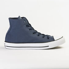 CONVERSE 155442C CHUCK TAYLOR ALL STAR RIPSTOP NAVY HI TOP UNISEX TRAINERS