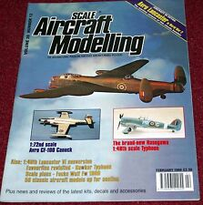 Scale Aircraft Modelling 20.12 Lancaster,Typhoon,CF-100,Fw190