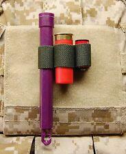 3-Cell Chemlight Shotgun Shell CR123 Battery Holder OD Multicam Cyalume