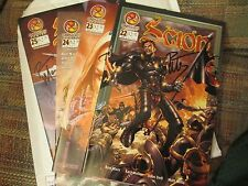 Scion #22, 23, 24, 25 (Crossgen 2002) Signed by Ron Marz, F to VF condition