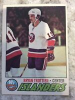 1977/78 O-PEE-CHEE NHL HOCKEY CARD 105 BRYAN TROTTIER EX SHARP!! 77/78 OPC
