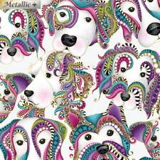 Benartex Dog On It by Ann Lauer 6253M 13 Lt Grey Lets Face It Cotton Fabric