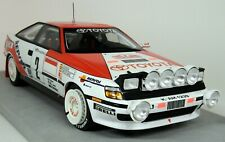 Top Marques 1/18 Scale Toyota ST 165 Monte Carlo Win 1991 Sainz Moya Resin Model