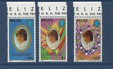 BELIZE - 618 - 620 - MNH - 1982