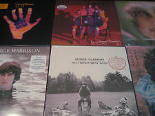 GEORGE HARRISON ALL THINGS MATERIAL BRAINWASHED & EARLY TAKES LIMITED 13 LP SET