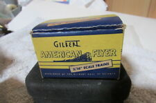3 Gilbert American Flyer 3/16 Scale Train 14 Volt Red Lamps #455 7/16 Diam-In Bo