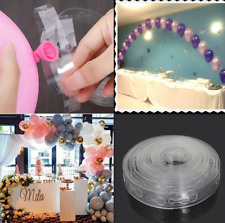 5M Balloon Connect Chain Balloon Arch Tape Balloon Decorating Strip Plastic