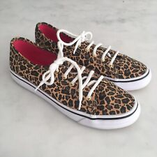 Keds Leopard Animal Print Trainers Pumps - worn once - Size 4 / 37