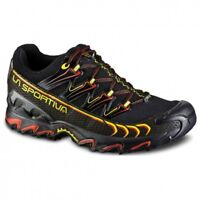 La Sportiva Ultra Raptor gtx scarpa uomo trail running black yellow