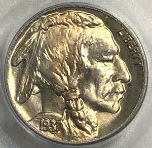 1937 PCGS MS66 Buffalo Indian Nickel 5c ~ Exceptional Choice BU
