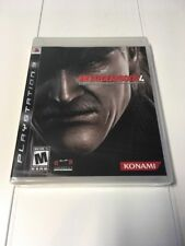 Metal Gear Solid 4: Guns of the Patriots (PS3) Brand New Not For Resale 6992