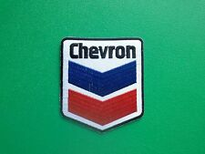 MOTOR RACING OILS, FUELS & TYRES SEW ON / IRON ON PATCH:- CHEVRON (a)