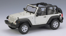 Welly 1:24 2007 Jeep Wrangler Convertible Diecast Model Sports Car NEW IN BOX