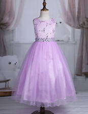 Flower Girl Dress Kids Princess Dresses Party Wedding Bridesmaid Birthday Formal