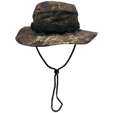 US GI Ripstop Bush Boonie Hat Army Fishing Hunter Cap Real Tree Brown Camo S-XL