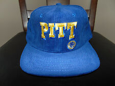 Corduroy PITTSBURGH PANTHERS PITT Cap COLLEGE Football Hat VINTAGE BRAND NEW ***