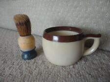 Shave Vintage Shaving Brush and Mug