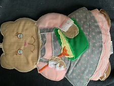 New listing Sewing or craft appliqué cat and mixing bowl