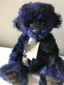 Sapphire Charlie Bear