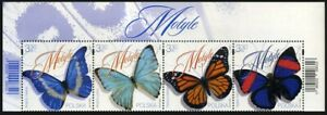 2020 Poland, fauna, insects, butterfly, 4 stamps, MNH