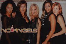NO ANGELS - A3 Poster (ca. 42 x 28 cm) - Clippings Fan Sammlung NEU