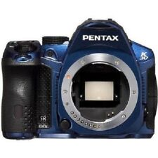 USED Pentax K-30 16 MP CMOS Digital SLR Body Blue Excellent FREE SHIPPING