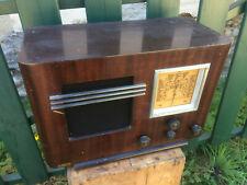 Antico Poste Radio Transistor Celard Poste a Lampada Vhf French Antico Radio