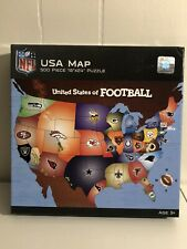 "NEW MasterPieces NFL ""United States of Football""  500 Piece Jigsaw Puzzle"