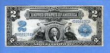 1899 $2 Silver Certificate, Large Note, Lyons - Roberts, ( #2080 )