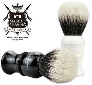 MASETO - Artillerist 24mm Extra Density 2 Band 100% Finest Badger Shaving Brush