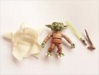 """Hasbro STAR WARS the clone wars YODA  ACTION FIGURE 2.5"""""""
