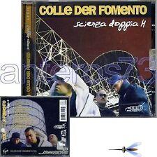 """COLLE DER FOMENTO """"SCIENZA DOPPIA H"""" RARO CD RAP HIP HOP - SIGILLATO"""