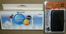 NINTENDO DS LITE ACCESSORY PACK NEW! Console Game Case Car Mains Charger Stylus
