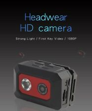 F18 Night Vision Head-mounted 1080P HD Camera Sports Helmet Camcorder IR 32GB DV