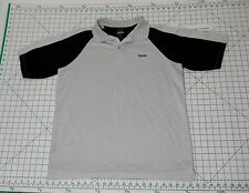 REEBOK Play Dry Fit Polo Shirt - Men's Size L - Athletic Short Sleeve Golf