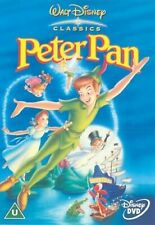 PETER PAN Original Walt Disney Animated Cartoon DVD UK Movie New Film Sealed R2