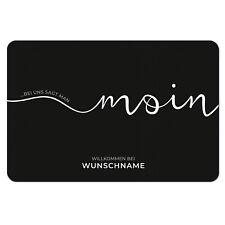 Fußmatte mit Namen Familie Wunschtext Wunschname Familienname Vornamen Geschenk