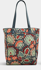 VERA BRADLEY Crosstown Tote NOMADIC FLORAL Laptop Bag Purse Shoulder $78 NEW