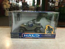 2011 Halo  Warthog with Master Chief & Spartan Mark VI with Remote Control NIB
