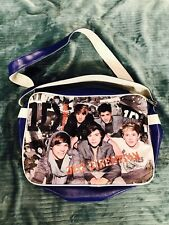 1D One Direction Crossbody Bag Messenger Purse Shoulder Bag Backpack Blue White